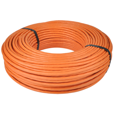 Cat.7 Netzwerkkabel Verlegekabel 1000 MHz S/FTP PIMF orange