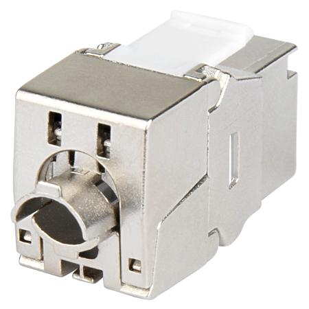 Cat.8.1 Keystone Modul RJ45 Buchse 40 GBit/s
