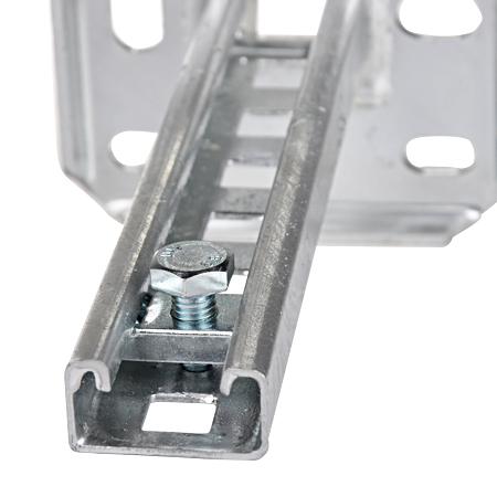 Gleitmutter + Schraube M10x20 für C-Profile