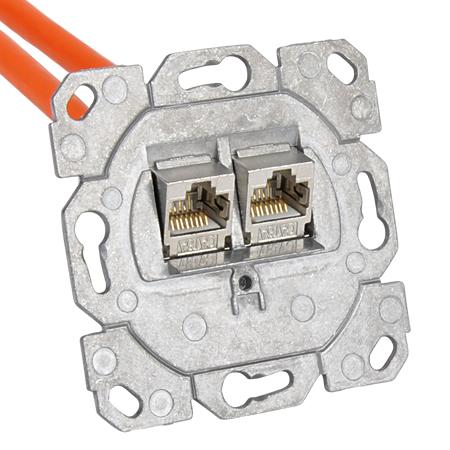 Keystone Rahmen 2-fach für gängige Schalterprogramme
