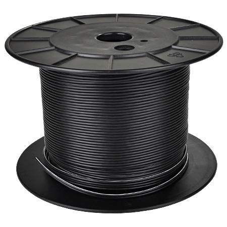 Lautsprecherkabel 2x1 mm² Kupfer schwarz