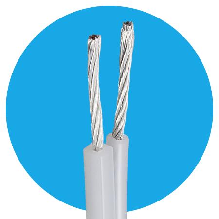 Lautsprecherkabel 2x2,5 mm² OFC Casual Meterware