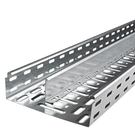 Metall Trennsteg feuerverzinkt für Kabelrinnen 12 m (6 Stangen)