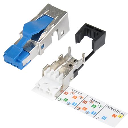 Metz Connect Cat.8.1 RJ45 Netzwerkstecker 40 GBit/s