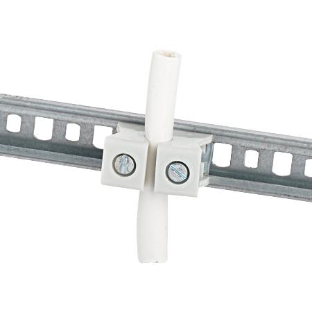 Reihenschelle einteilig, Schlitz 11-12 mm