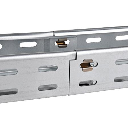 Schnellverbinder Clip für Kabelrinnen 10 Stück