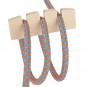 Textilkabel Knoten Halter Holz