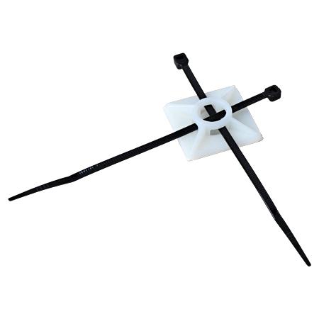 Befestigungssockel mit Klebefolie für Kabelbinder