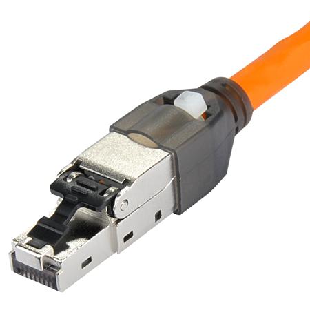 """Netzwerk-Set """"DIY"""" 5-Port Switch + 2 Netzwerkstecker + Cat.7 Kabel"""