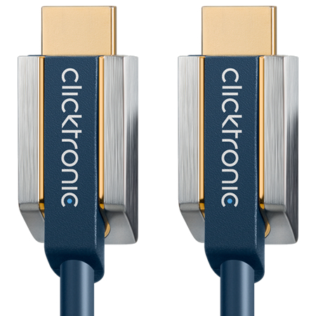 Clicktronic High Speed HDMI Kabel with Ethernet Advanced-Serie