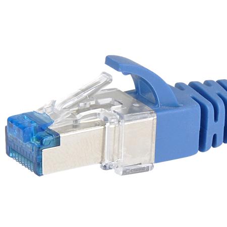 LAN Kabel Reparatur Clip für abgebrochene Rastnasen an RJ45 Steckern