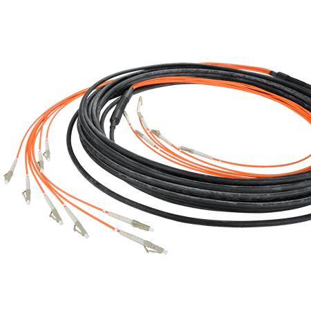 LWL Universalkabel U-DQ(ZN)BH OM3 LC/LC 8 Fasern