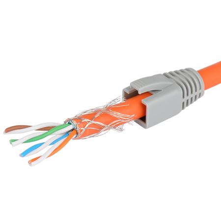 RJ45 Netzwerk Stecker für Cat.7 Verlegekabel