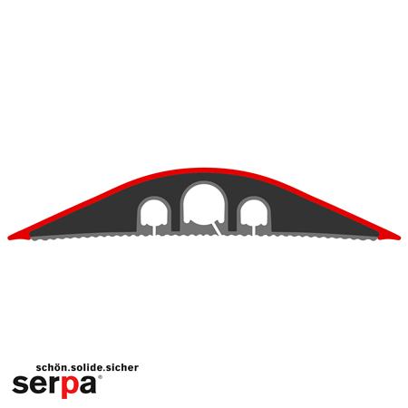 Serpa Kabelbrücke B9 dunkelgrau 3,0 m