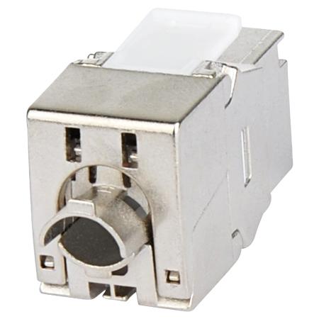 Profi Cat.6A Keystone Modul RJ45 10 GBit/s