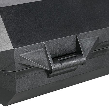 SteckerBox abschließbar Maxi SteckerSafe mit Schnappverschluss schwarz