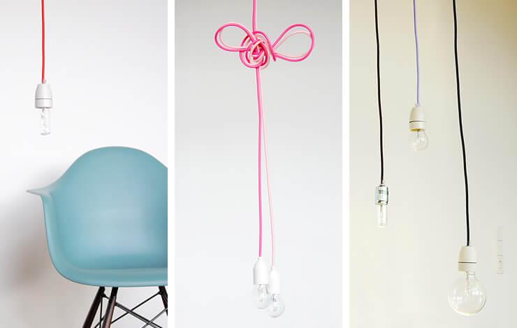 textilkabel f r ihre individuelle design lampe. Black Bedroom Furniture Sets. Home Design Ideas